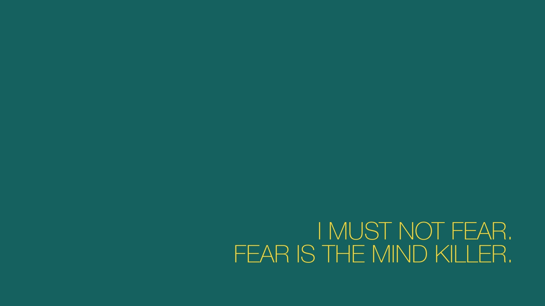 I Must Not Fear 2