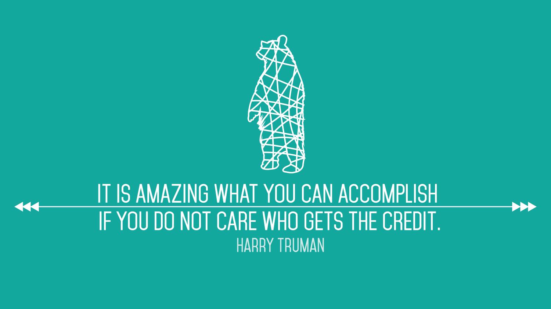 Truman Quote