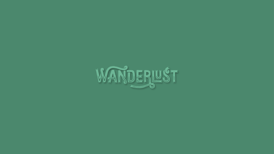 Wanderlust minimal simple minimalist desktop wallpaper