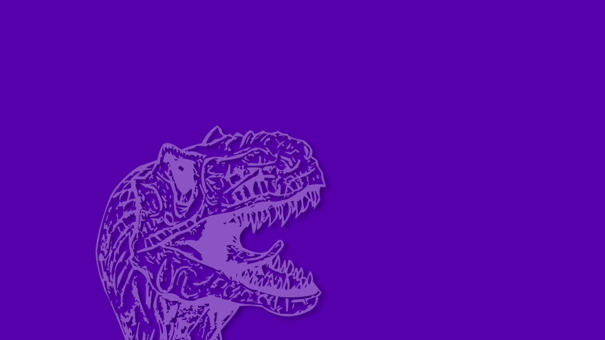 velociraptor jurrasic love minimal simple minimalist desktop wallpaper