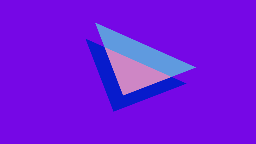 Minimal Simple Desktop Wallpaper 80s Triangles