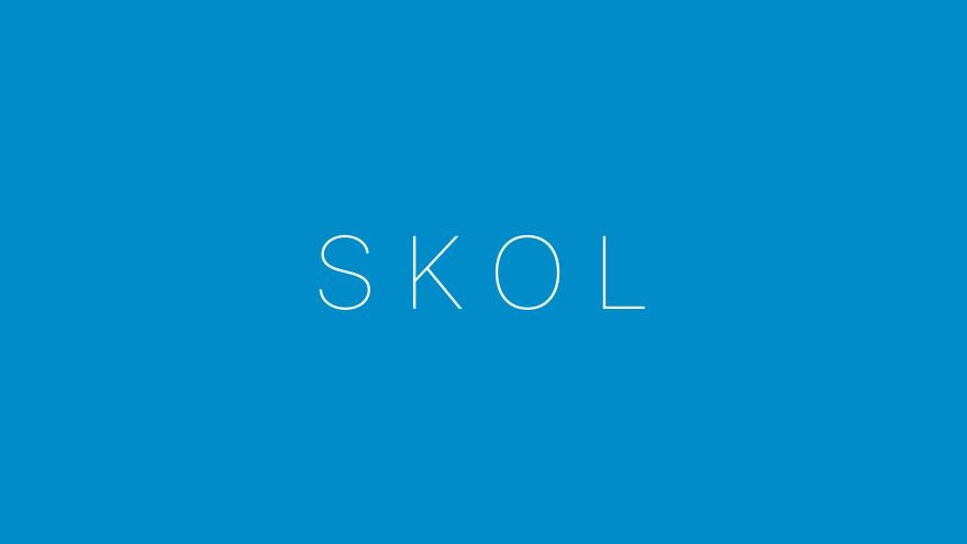 skol minimal simple minimalist desktop wallpaper