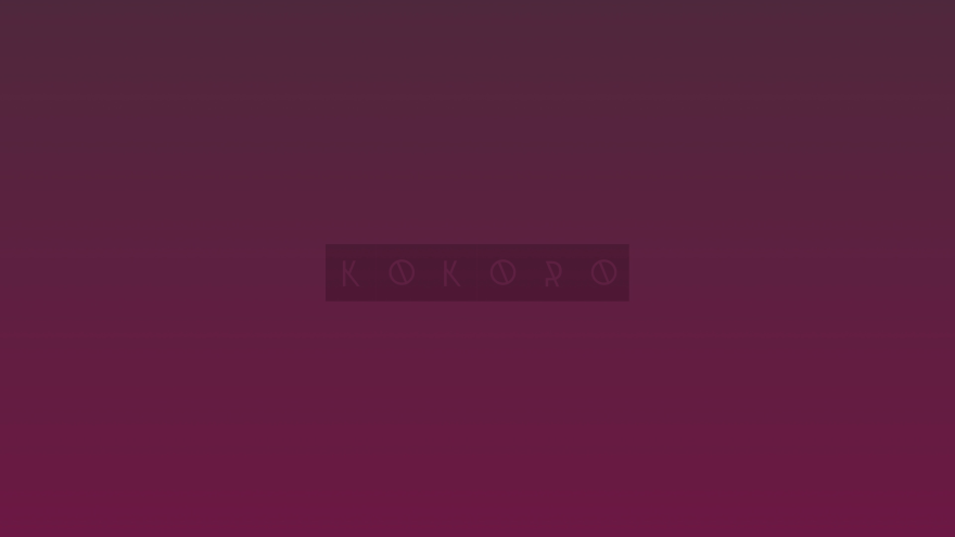 kokoro minimal simple minimalist desktop wallpaper