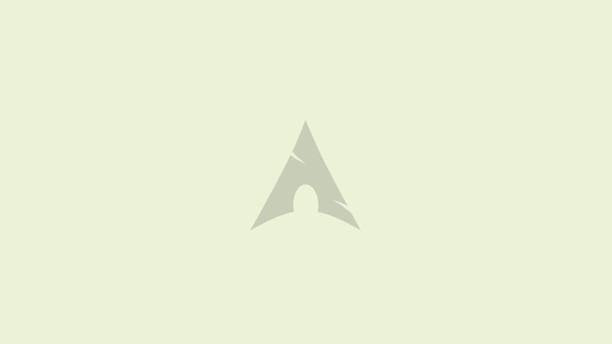 arch linux minimal simple minimalist desktop wallpaper