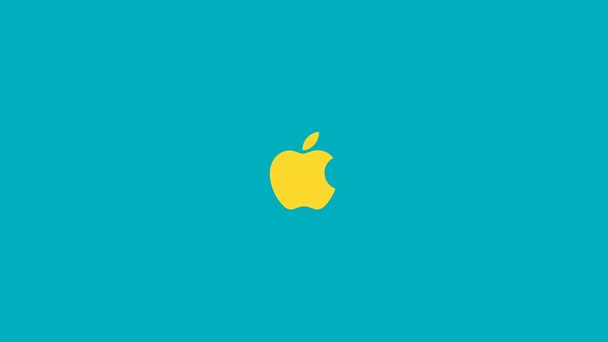 apple minimal simple minimalist desktop wallpaper
