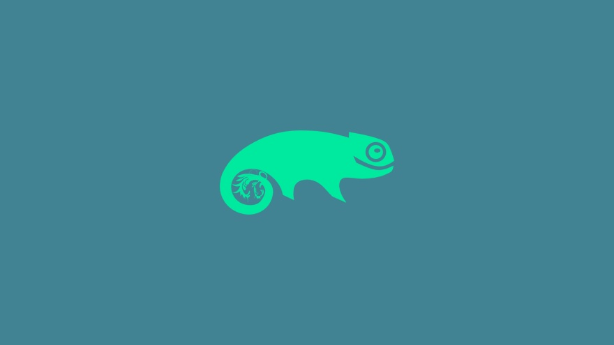 open suse linux minimal simple minimalist desktop wallpaper