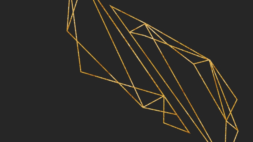 gold geometry minimal simple minimalist desktop wallpaper