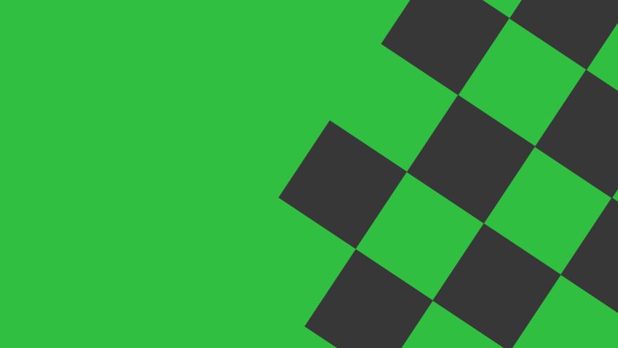 checkered green and black simple free minimal desktop wallpaper