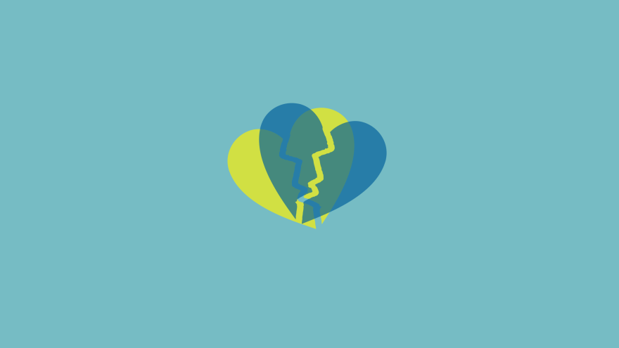 Broken Hearts Desktop Wallpaper Free Download Minimal Minimalistic Minimalist